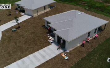 New home for a single Mom this Mother's Day. (Credit: WINK News)