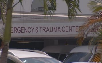Outside of an Emergency Trauma Center. (Credit: WINK News)