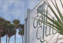 Sign of the old Cape Coral golf course. (Credit: WINK News)