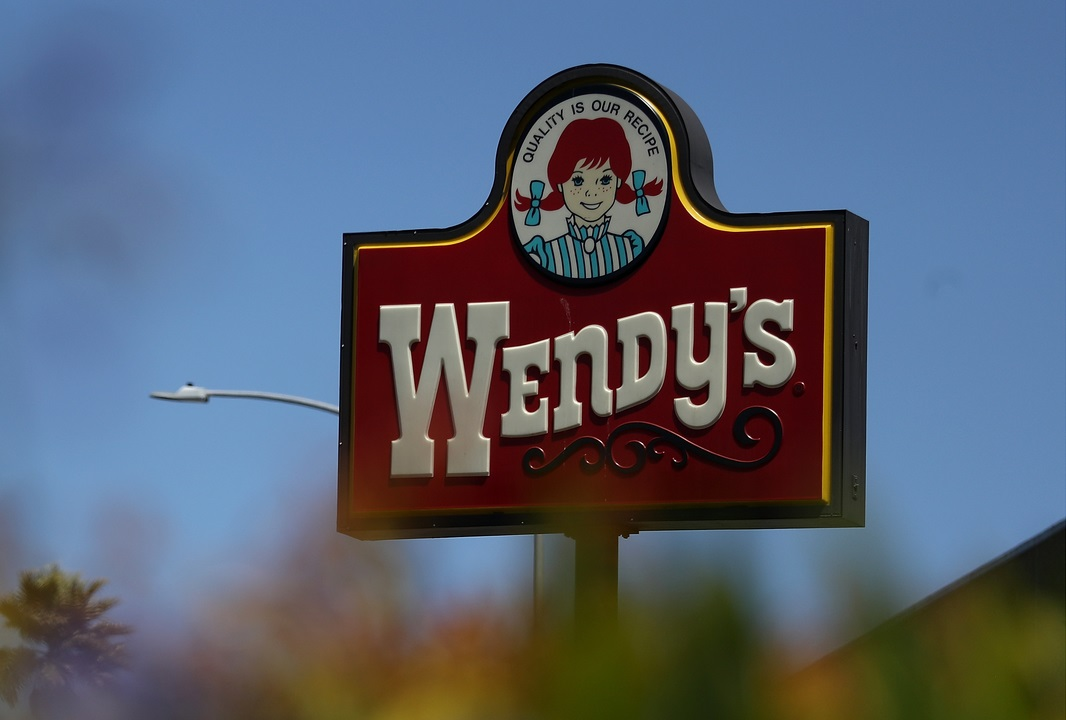 Sign outside of a Wendy's fast food resturant. (Credit: CBS)