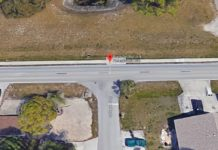 Site of the crash in Bonita Springs. (Credit: Google Maps)