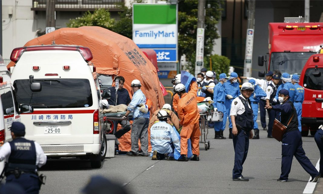 Knife Attack At Japan Bus Stop Wounds 19, Kills At Least 1-5121