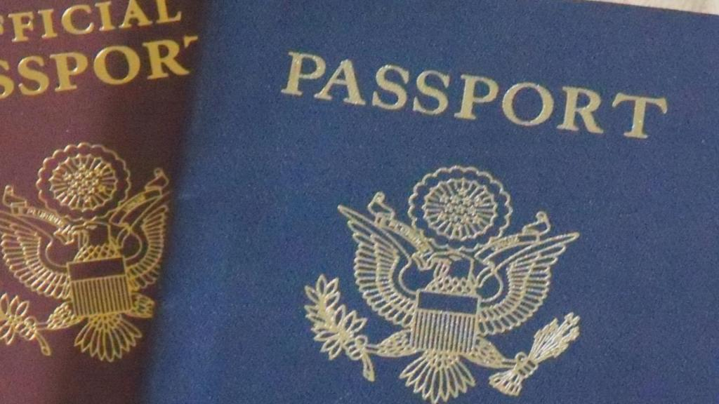 U.S. passport. (Credit: CBS)