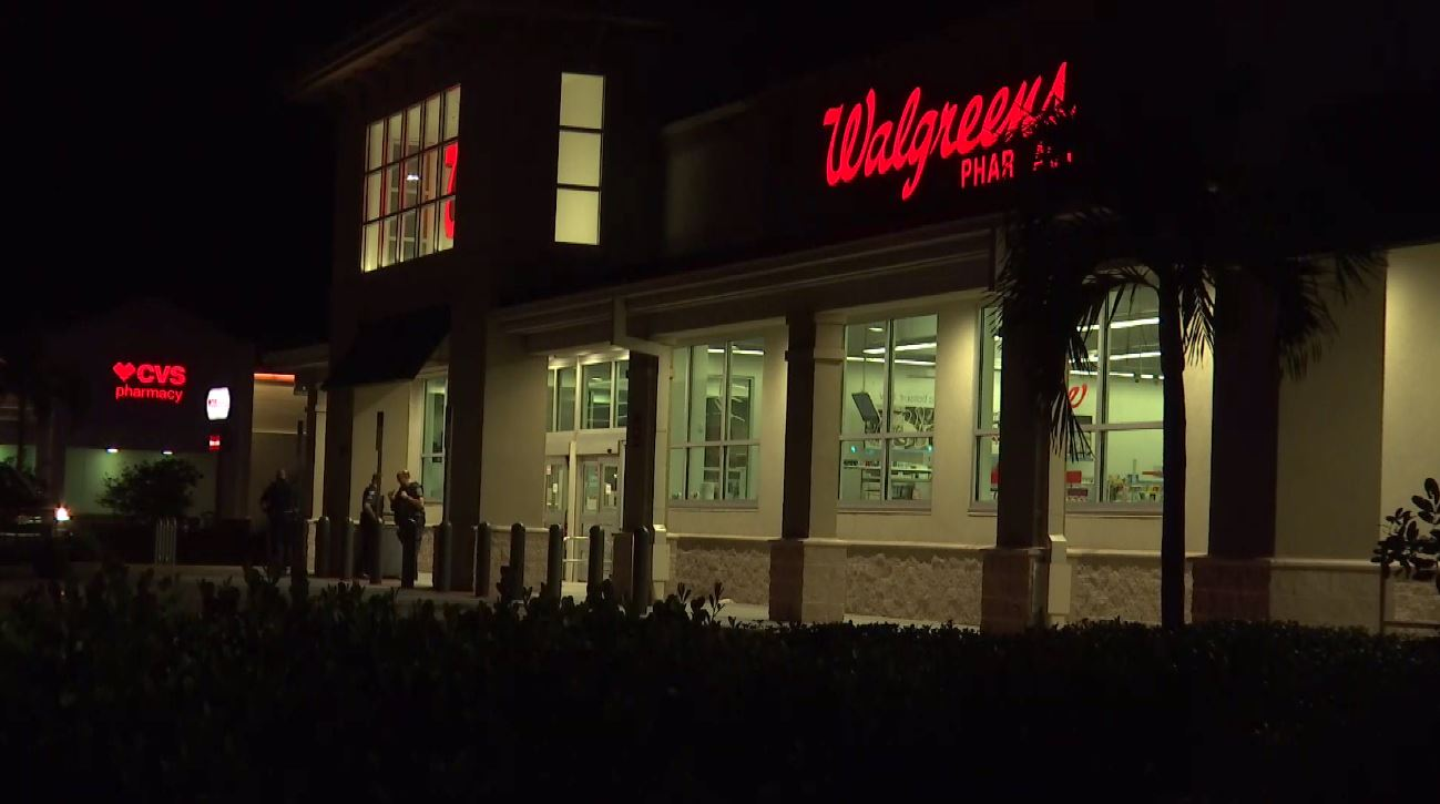 Police Investigating Robbery At Walgreen Liquor Store In