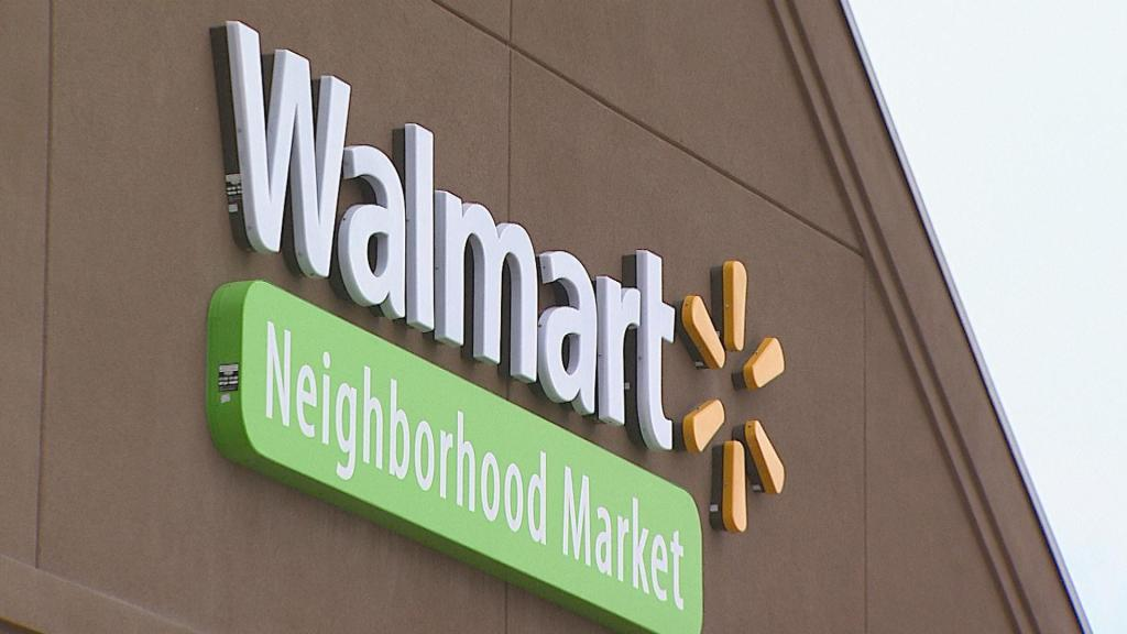 Walmart Store. (Credit: CBS)