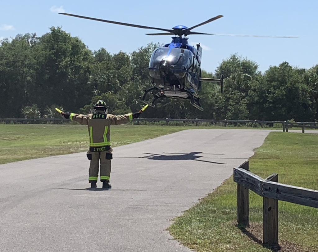 Florida woman airlifted to hospital after an alligator attack