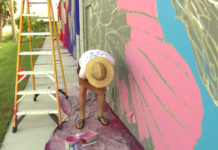 Anton works on the project. (Credit: WINK News)