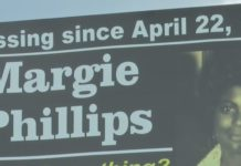 Billboard of Margie McGee, who died 43-years ago. (Credit: WINK News)