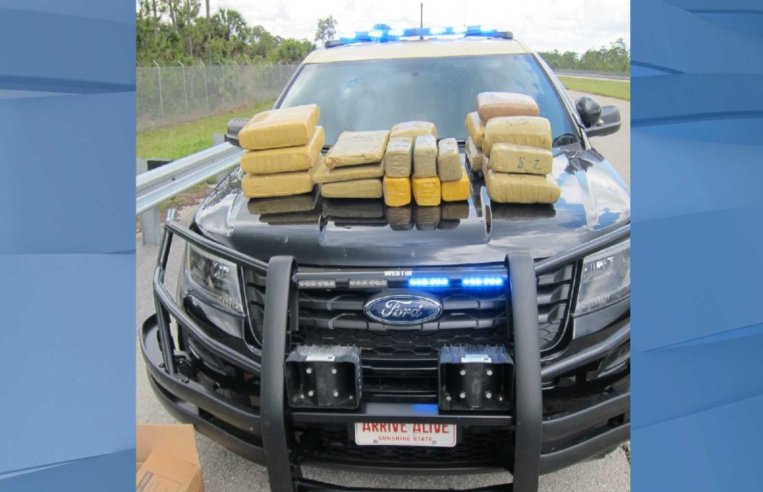 Drugs seized by FHP. (Credit: FHP)