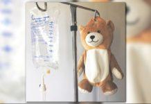 Ella Casano's 'Medi Teddy' invention. (Credit: CBS)