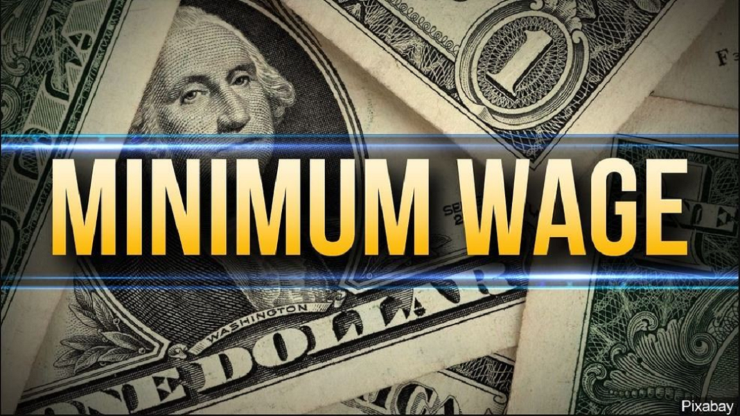 Graphic for the minimum wage. (Credit: MGN)