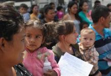 Immigrant families. (Credit: CBS News)