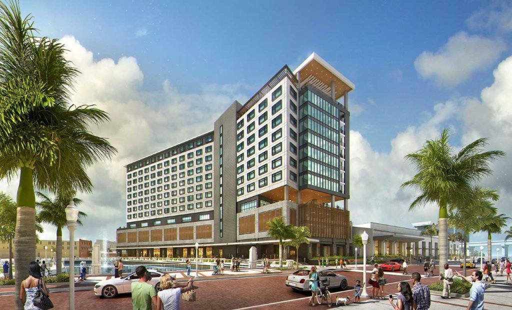 Luminary Hotel in Downtown Fort Myers. (Credit: Luminary Hotel)