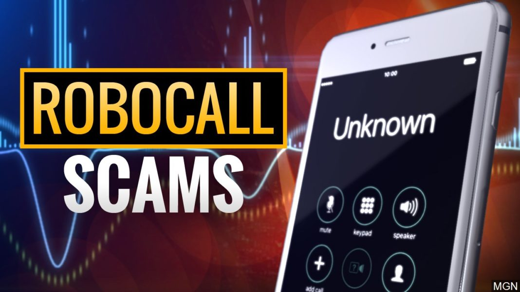 Robocall scam. (Credit: MGN)