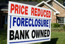 Sign showing a foreclosure property. (Credit: CBS News)