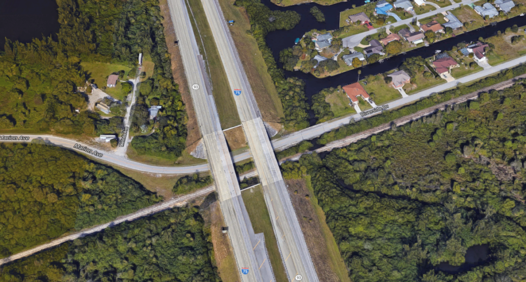 Site of the Punta Gorda crash. (Credit: Google Maps)