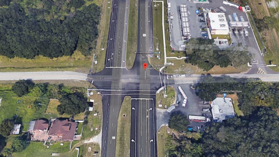 Site of the crash where a Bonita Springs woman died. (Credit: Google Maps)