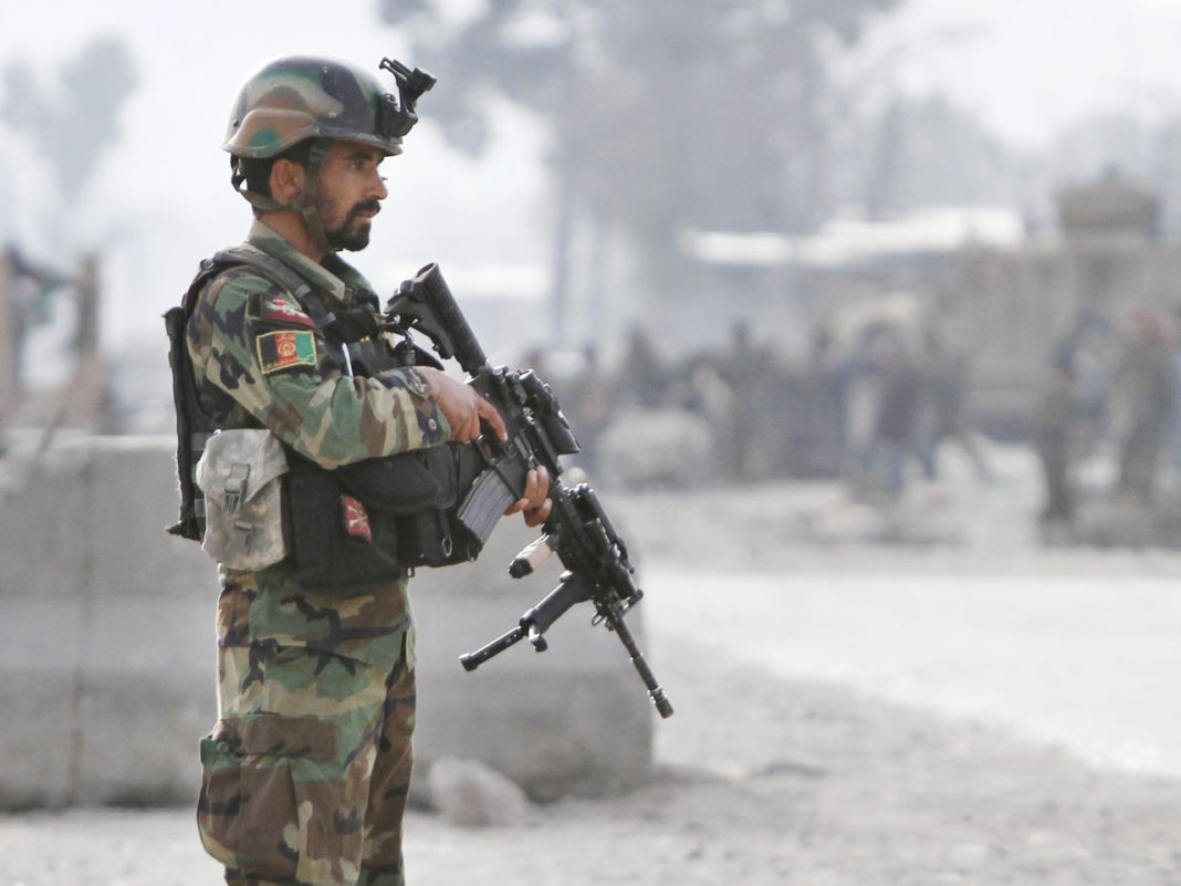 Afghan soldier kills 2 US troops, says U.S. officials. (Credit: AP)
