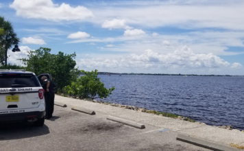 Charlotte County Sheriff's Office is on scene of a deceased person observed in the harbor off of Bayshore Park. (Credit: CCSO)