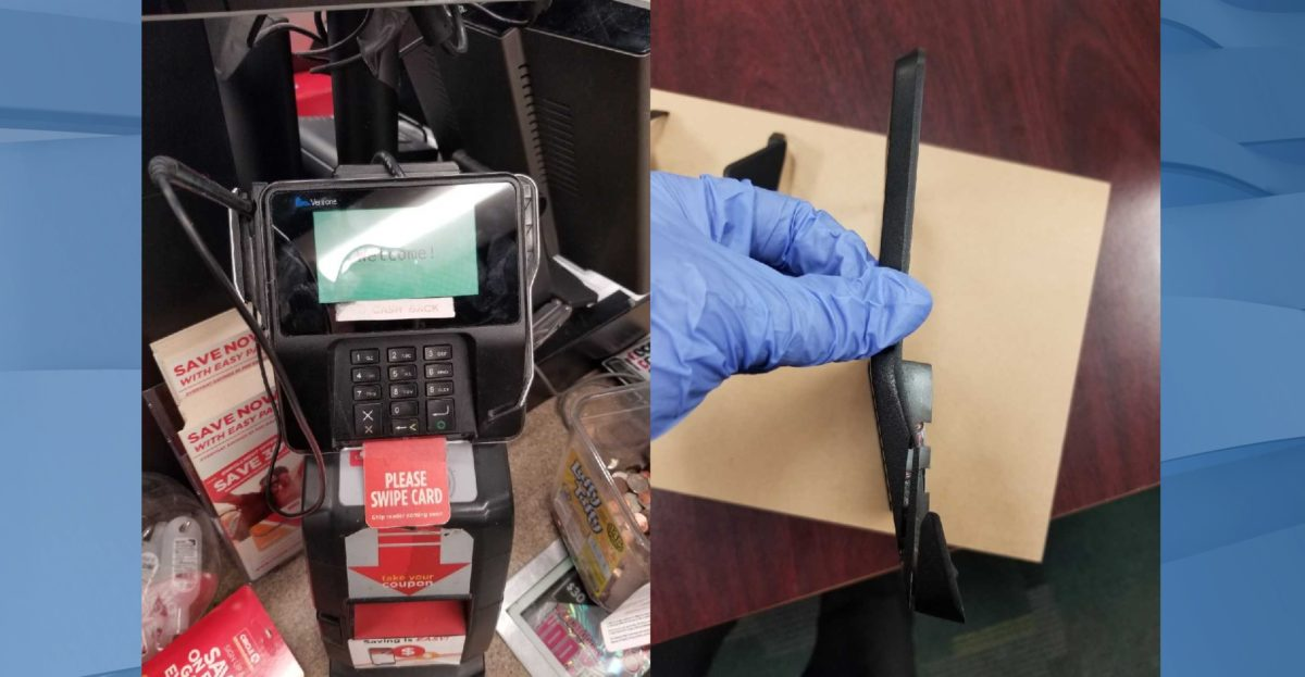 Card skimmer found inside a Charlotte County Circle K