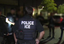 ICE raids targeting thousands of migrants will reportedly begin this weekend. (Credit: CBS News)