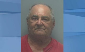 Mugshot of Jose Antonio Gamez Azcanio, 71. (Credit: Lee County Sheriff's Office)