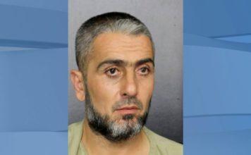 Mugshot of Mohammed Omar Haji Mohammed, 36. (Broward County Sheriff's Office via AP)