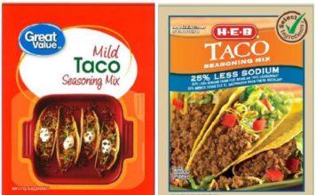 Possible Salmonella contamination recall items. (Credit: Williams Foods LLC)