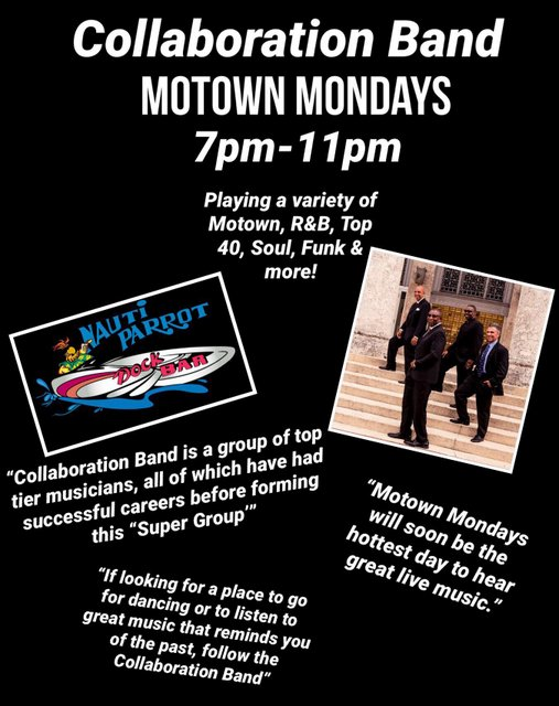 Motown Monday w/ The Collaboration Band