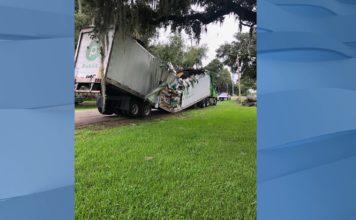 Trucker arrested after fiery 28-vehicle crash leaves 4 dead near Denver