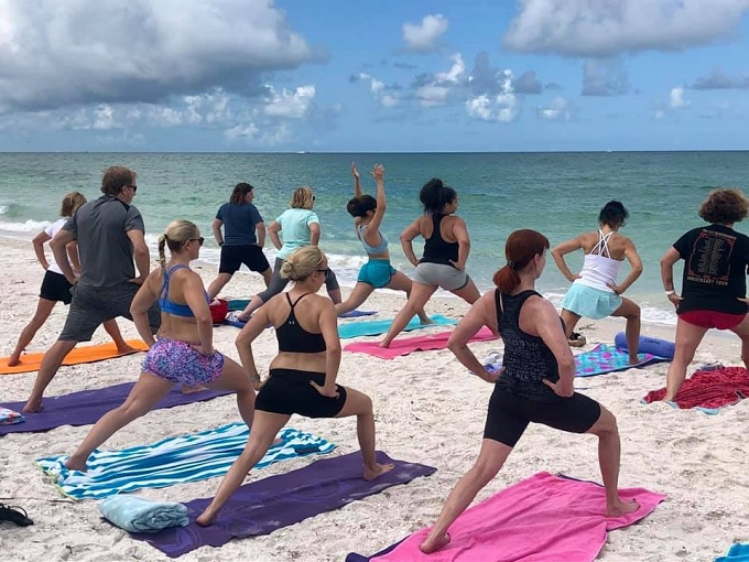 Pure Florida and Yoga House Naples Island Yoga Cruises