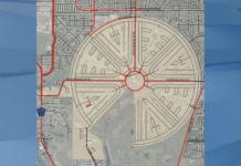 Rotonda West sidewalk plan. (Credit: WINK News)
