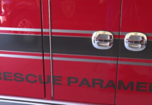 Area in the fire truck where tools to counteract opioids are used by rescue paramedics. (Credit: WINK News)