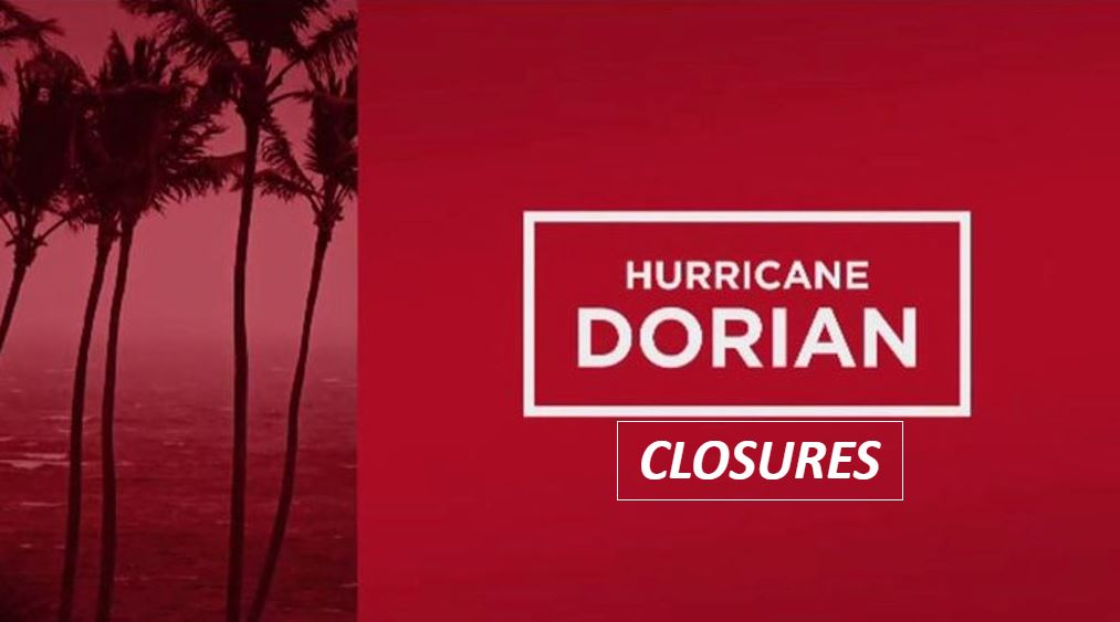 Hurricane Dorian closures (WINK News)