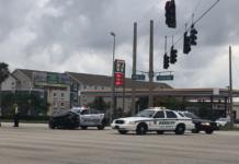 Crash involving an officer. (Credit: WINK News)