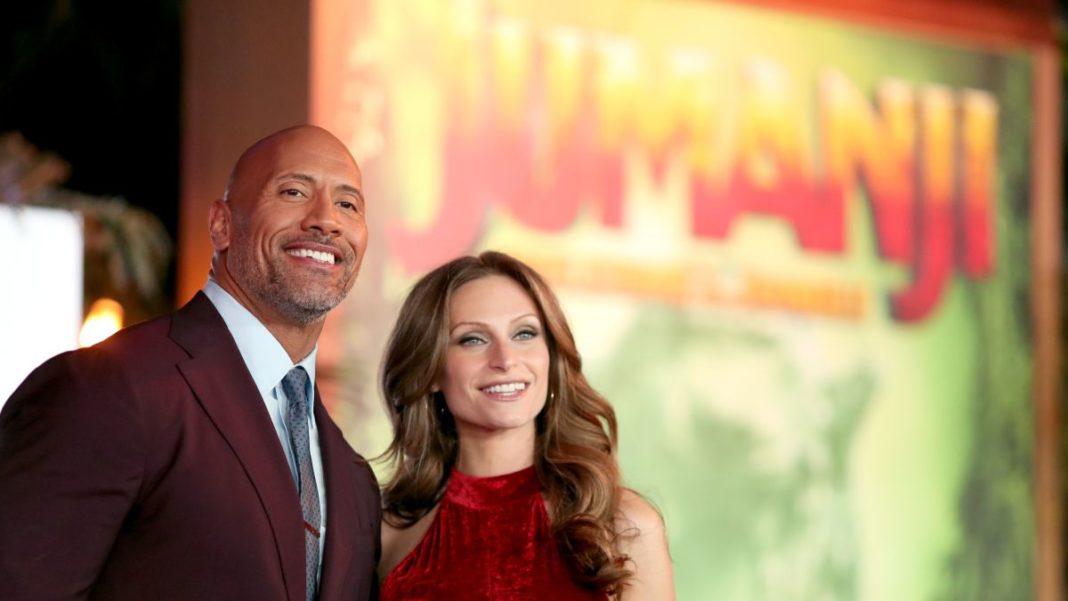Dwayne 'The Rock' Johnson marries Lauren Hashian in Hawaii. (Credit: CNN)