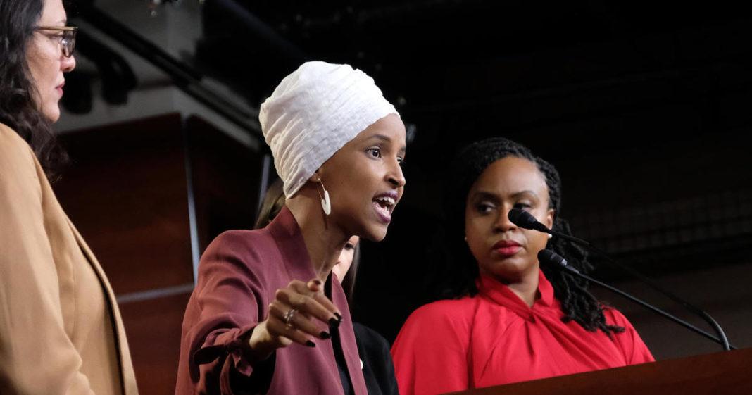 Israel bars entry to outspoken U.S. Congresswomen Ilhan Omar and Rashida Tlaib, deputy foreign minister says. (Credit: CBS News)