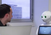 Robot assistant for a working professional. (Credit: WINK News)