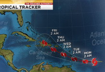 Tropical Tracker. (Credit: WINK News)