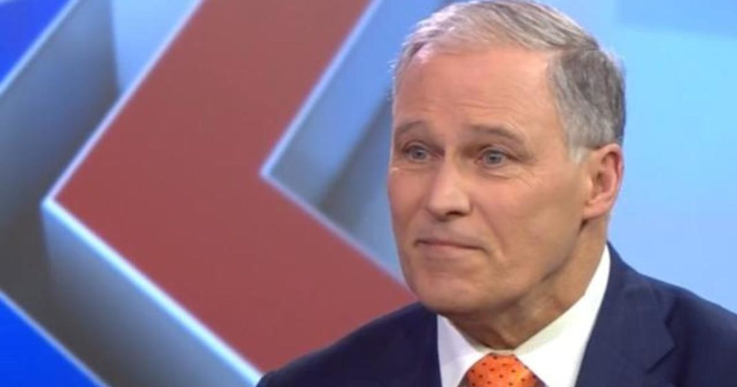 Washington Governor Jay Inslee drops out of 2020 presidential race. (Credit: CBS News)