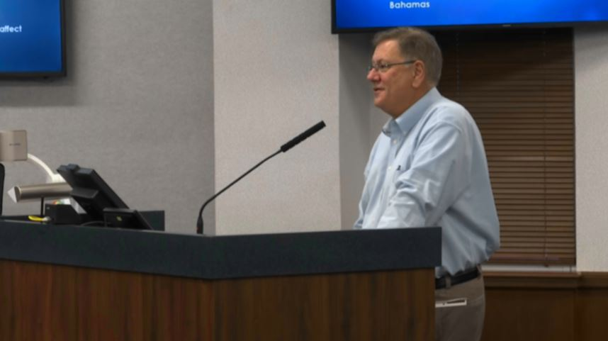 Collier County officials hold news conference ahead of Hurricane Dorian (WINK News)