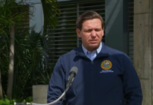 Gov. Ron DeSantis speaks ahead of Hurricane Dorian- Aug. 29, 2019 (WINK News)