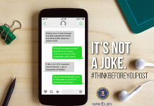 "FBI launches ""Think Before You Post"" campaign to fight against hoax threats (FBI)"