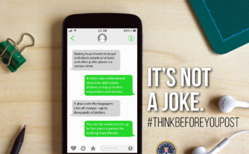"""FBI launches """"Think Before You Post"""" campaign to fight against hoax threats (FBI)"""