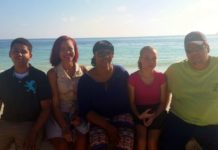 FGCU student Brianna Ritchie and her family (Family photos)