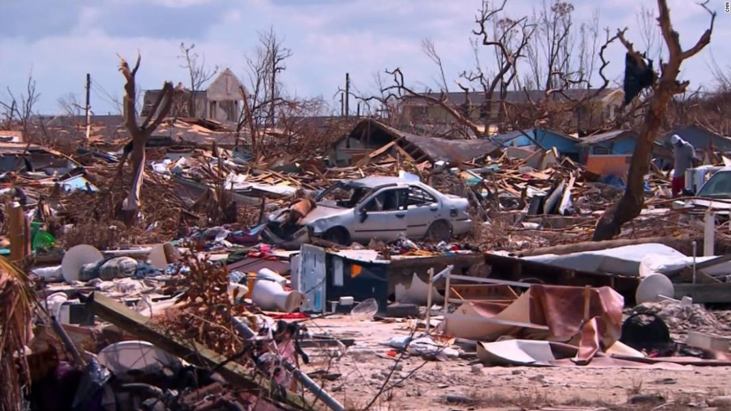 About 1,300 Bahamians are still unaccounted for after Hurricane Dorian struck two weeks ago. (Credit: CNN)