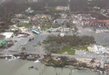 Among the devastation by Hurricane Dorian in the Bahamas. (Credit: WINK News)