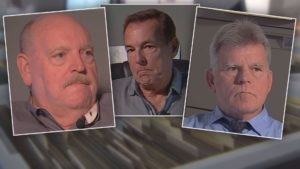 Left to right: Charlotte County Cold Case Detectives Mike Vogel, Kurt Mehl and Mike Gandy (Credit: WINK News)