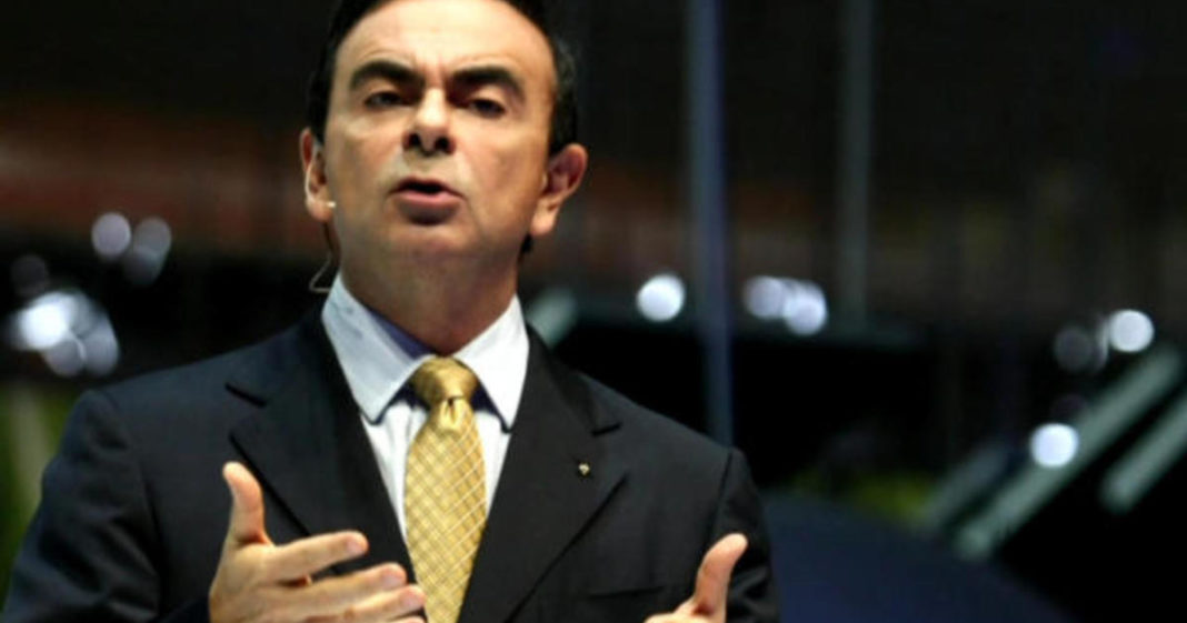 Carlos Ghosn, Nissan's former chief, settles charges he hid $140 million in pay. (Credit: CBS News)