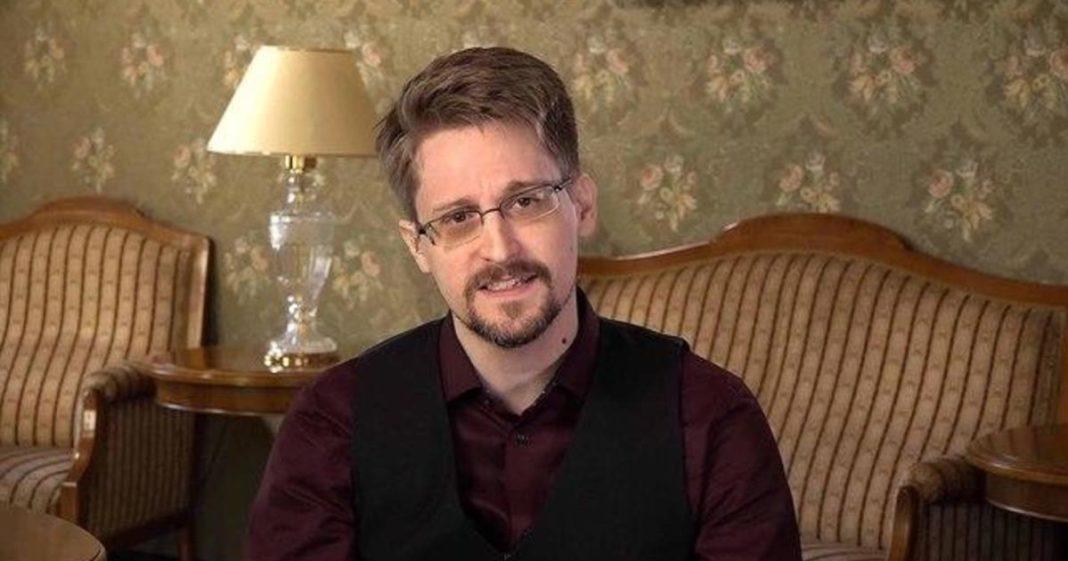 Edward Snowden. (Credit: CBS News)